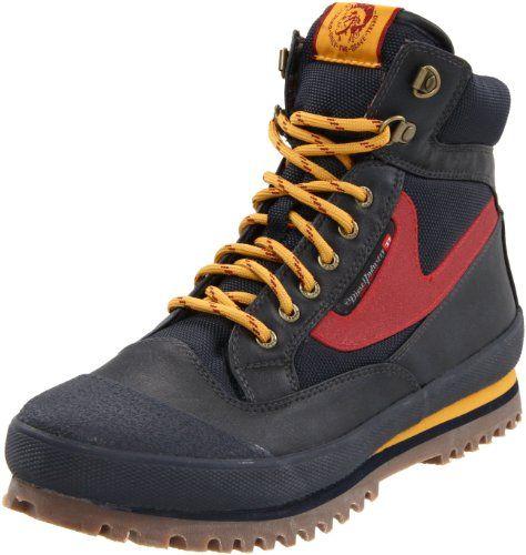 Diesel Men`s Olson Boot,Ebony,13 M US $104.00