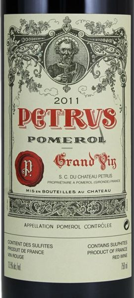 2011 Pétrus