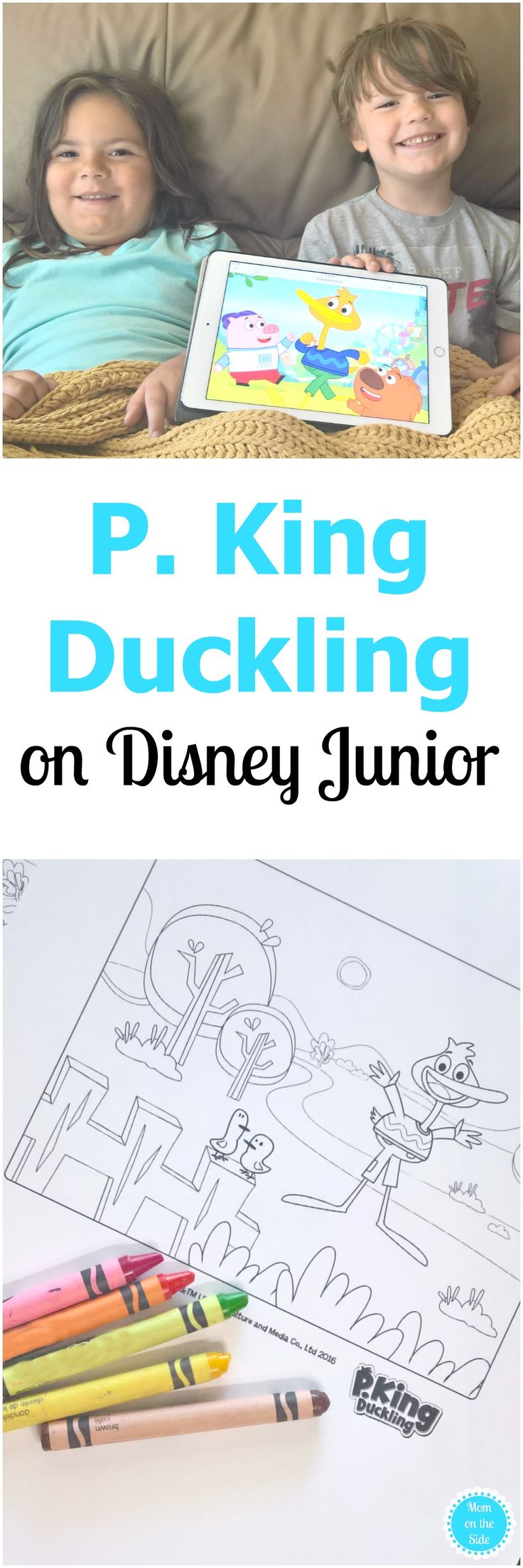 P. King Duckling, Wombat, and Chumpkins are three best friend's on Disney Junior's newest show. Learn more and the Core Values of P. King Duckling. via @momontheside AD pkingducklingdisneyjunior