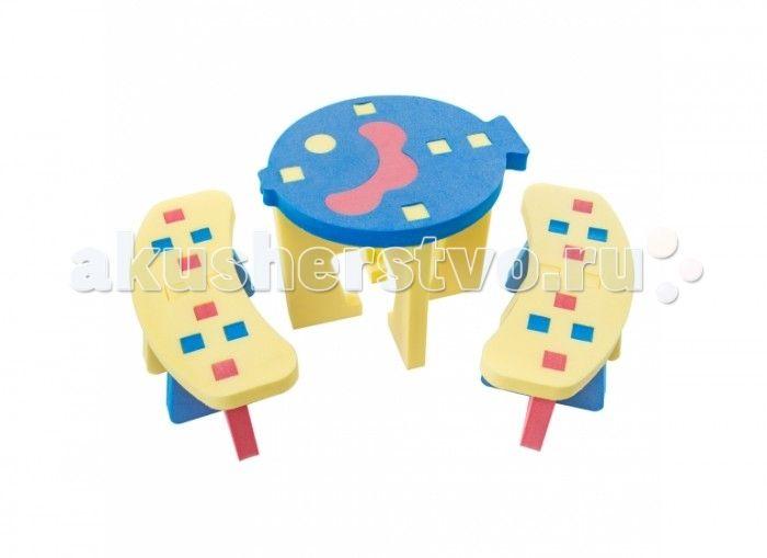 TweetSweet Комплект мебели Little Fish Stool  TweetSweet Комплект мебели Little Fish Stool  - это разноцветный уголок для игр маленьких фантазеров. Отличный столик со скамейками на который уместится по 2 человечка. Компактный разборный набор детской игровой мебели из блоков соберет и установит даже ребенок. Столик, выполненный в форме рыбки, станет местом весёлого времяпровождения, вкусного завтрака с обедом и привнесёт в распорядок дня игровые элементы.  Детский стол и вместительные…