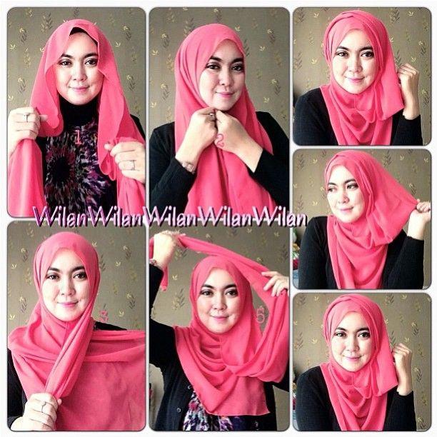 PASHMINA HIJAB TUTORIAL -- @hijablogger (Ms. Hijablogger) 's Instagram photos