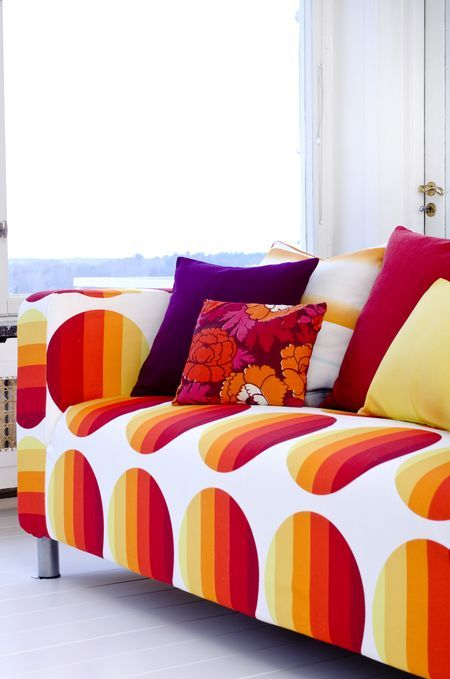 126 best images about klippan sofa cover colorful on for Canape klippan ikea