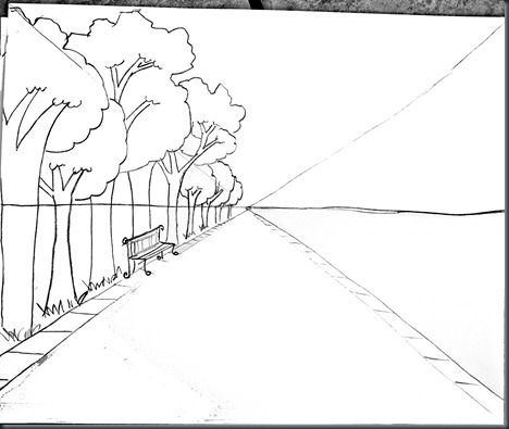 Great details for perspective drawing