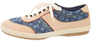 Louis Vuitton Monogram Denim Sneakers