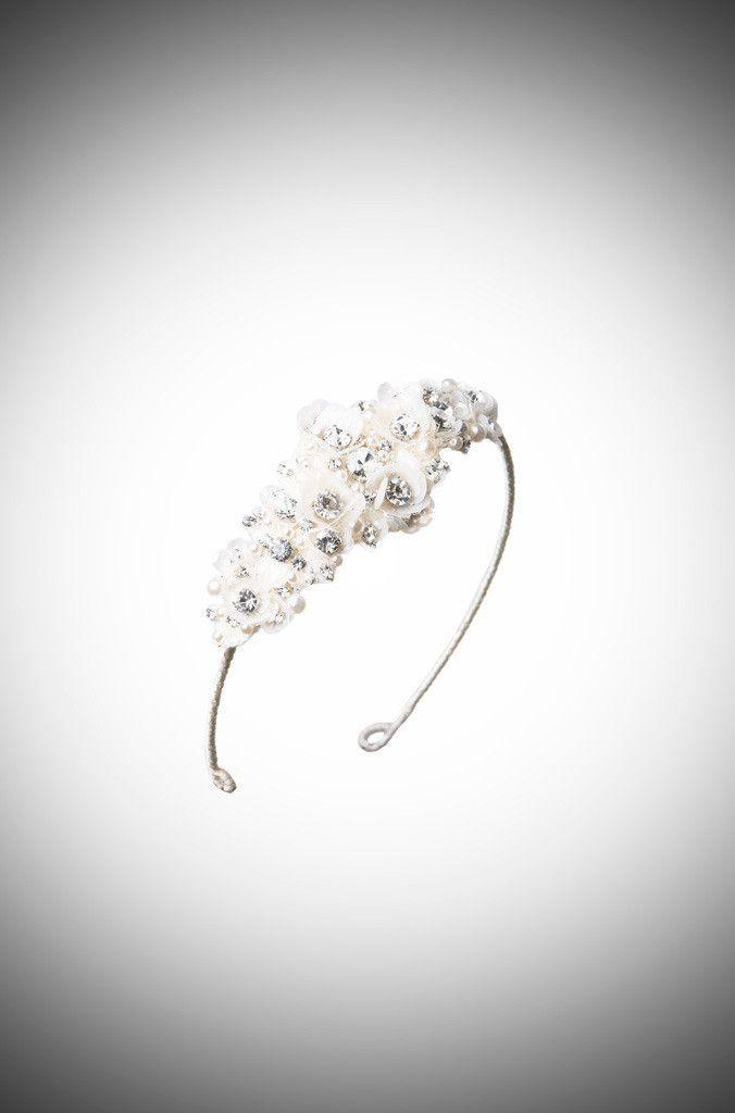 Camellia Bridal Headdress