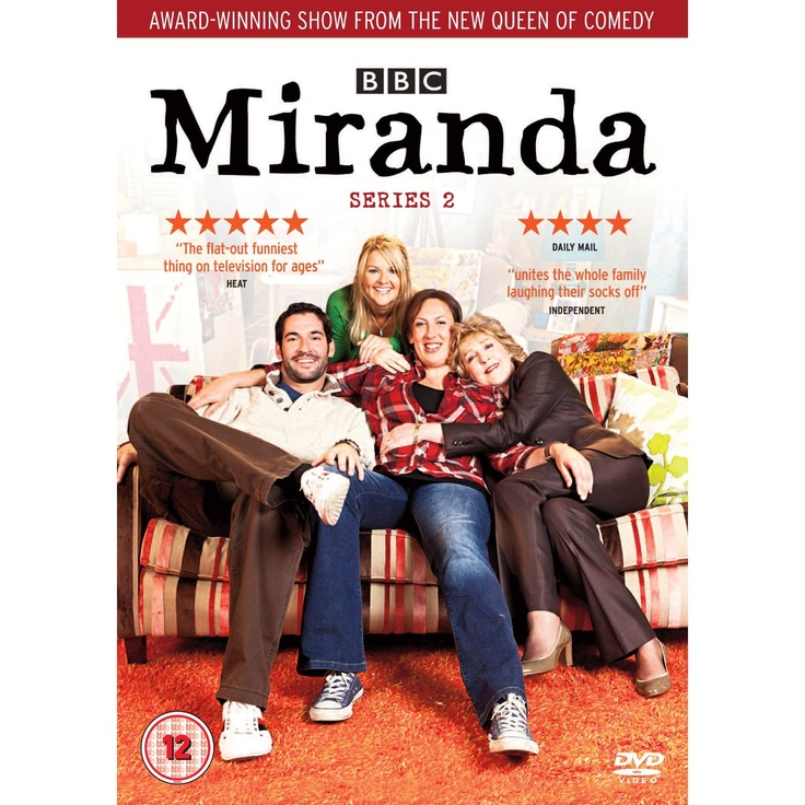 """Miranda - Series 2 (2011) written by Miranda Hart, starring Miranda Hart, Patricia Hodge, Tom Ellis, Sarah Hadland and Sally Phillips. """"Britain's """"Queen of Comedy"""" is back. It doesn't matter what Miranda attempts in life, whether it's dating or dealing with her overbearing mother, she always seems to fall flat on her face, literally. Since Gary left for Hong Kong, Miranda has been watching telly all day in her pyjamas. Stevie persuades her to stop wallowing and move on."""""""