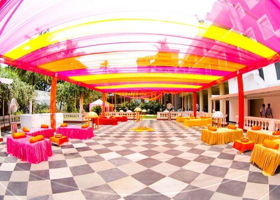 Ravneet Puri Photography Info & Review | Wedding Photographers in Delhi #decor #mehendi #orange #pink #mehendidecor #wedmegood