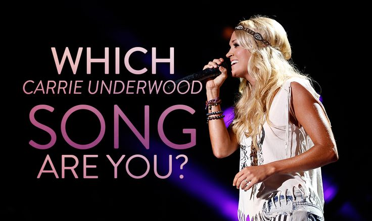 QUIZ: Which Carrie Underwood song are you? http://www.countryoutfitter.com/style/quiz-carrie-underwood/?lhb=style
