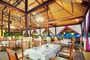 The Sandi Phala Beach Resort and Ma Joly Restaurant...