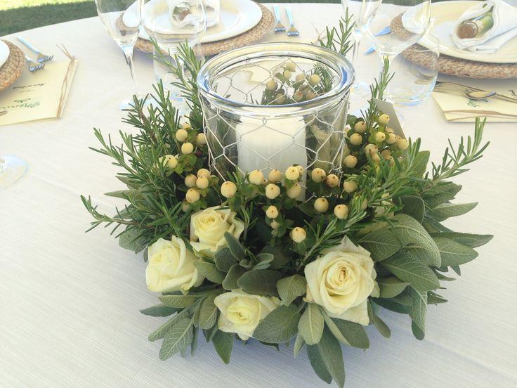 Wedding reception - Table decoration