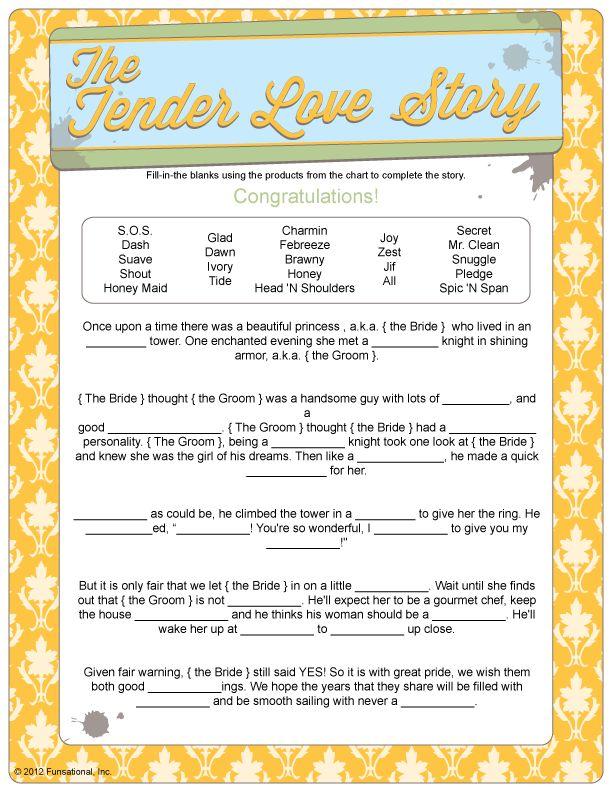 The Tender Love Story - Household Poem