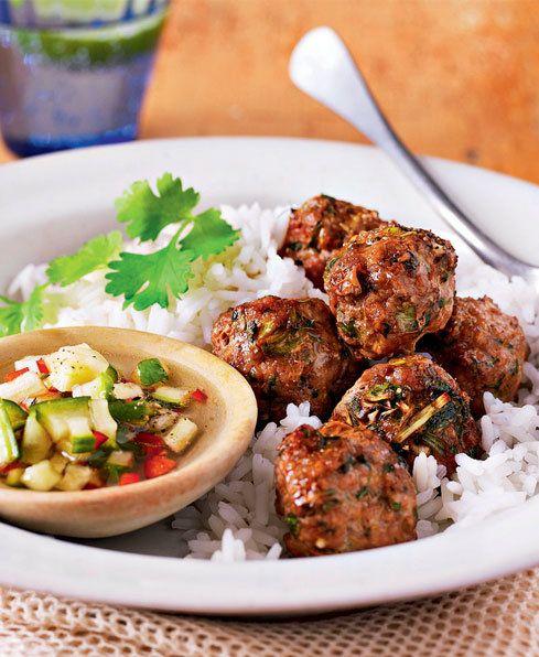 Pork & Lemongrass Meatballs