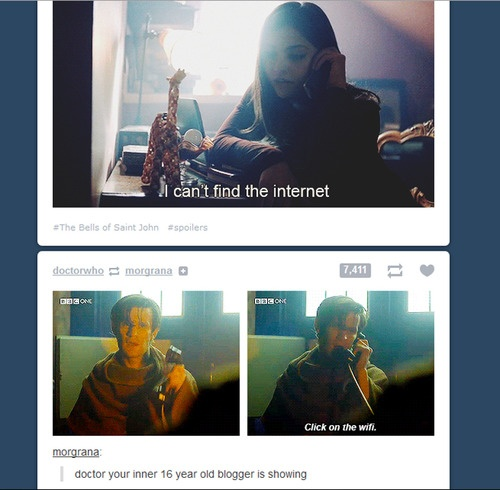 Image result for clara i cant find the internet