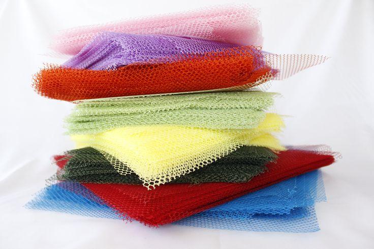 πολυεστερικό δίχτυ κομμένο για μπομπονιέρες.www.fstore.eu