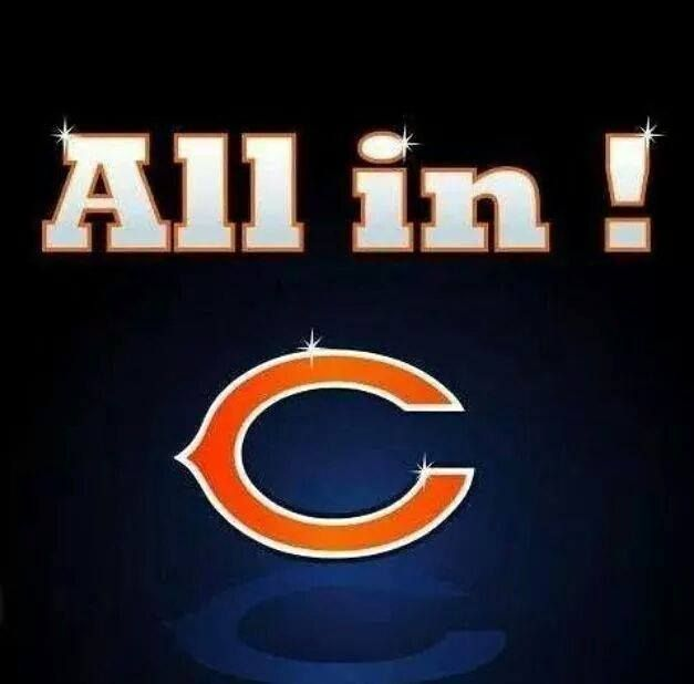 All in on the Bears!