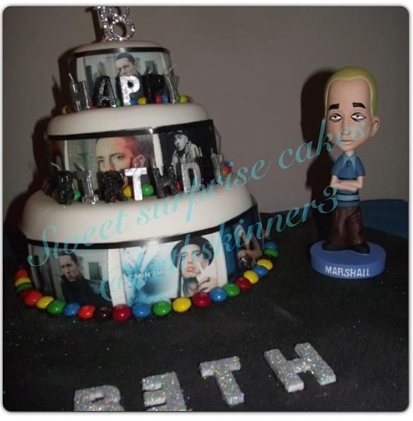 #Eminem #birthday #cake