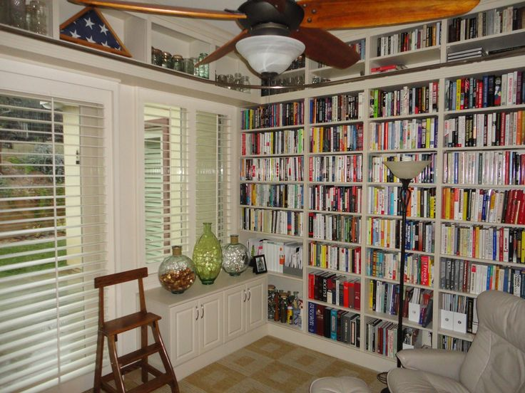 Home Librarys office & workspace : home library design, library tables for home