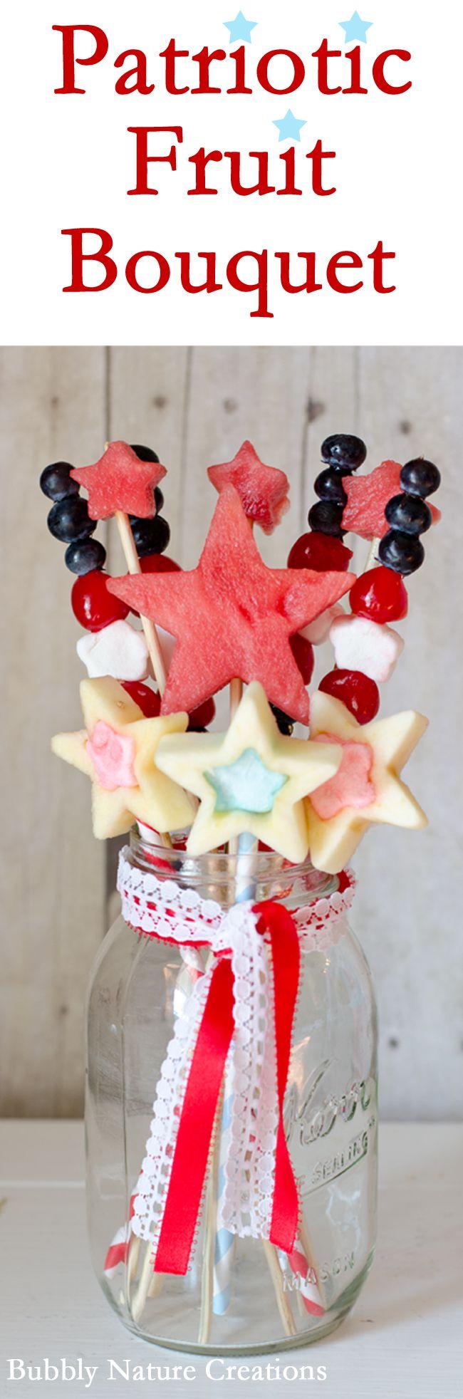 Best 121 Fruit bouquet images on Pinterest   Basket of fruit, Edible ...