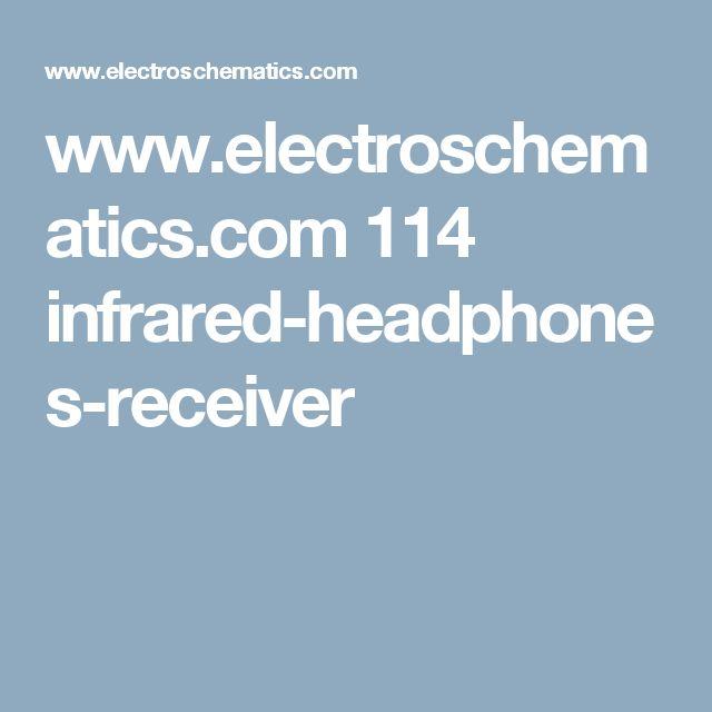 www.electroschematics.com 114 infrared-headphones-receiver