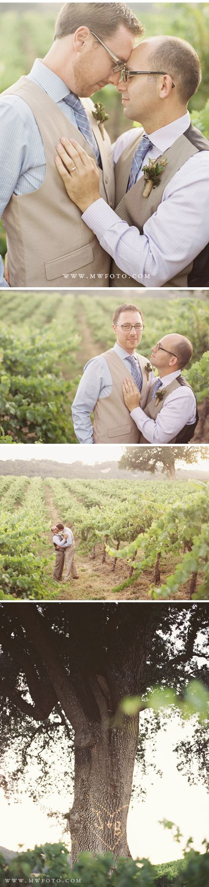 Paso Robles Hammersky Gay Wedding - Photos by Michelle Warren Photography - http://www.mwfoto.com