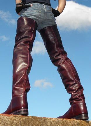 Thigh High Riding Boots Fashion