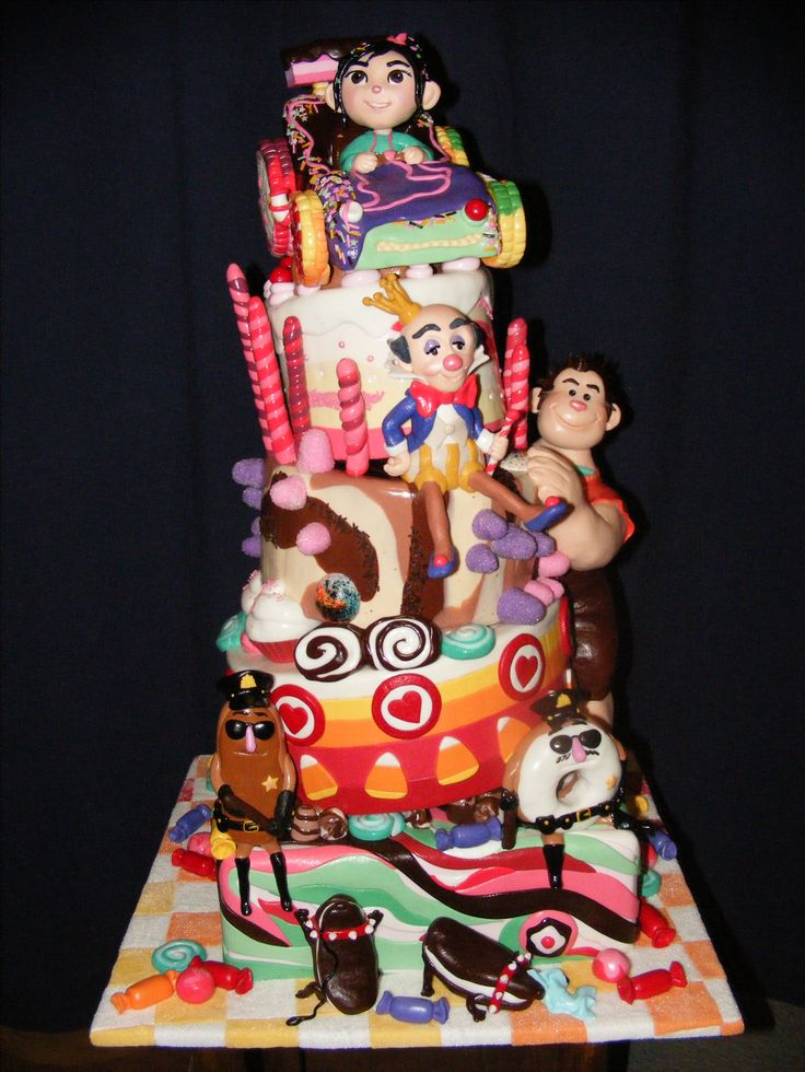 Wreck it Ralph / Sugar Rush cake
