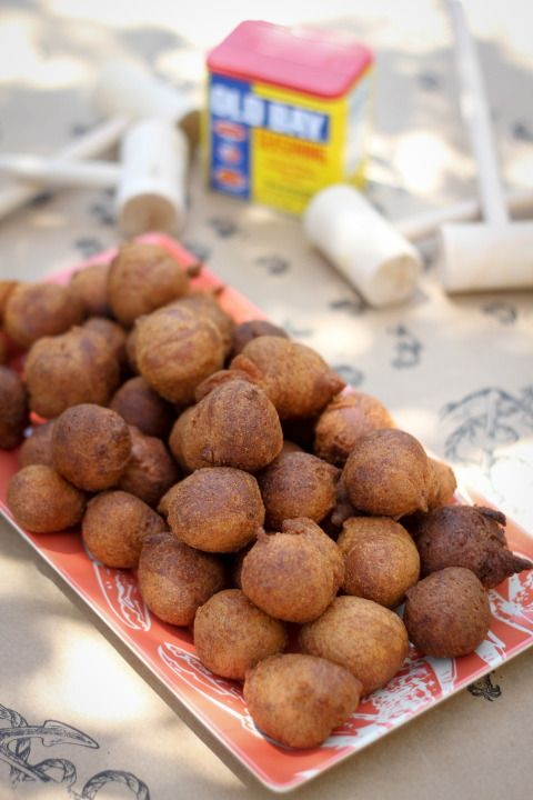 Hush Puppies for a crab feast
