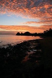 Sunset at Vorovoro #tribewanted #fiji