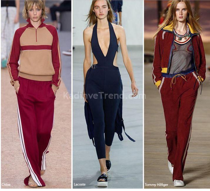 2016 ilkbahar yaz moda sportif kıyafetler