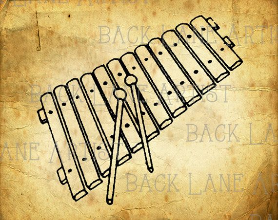 Line Art Xylophone : Best images about xylophones illustrations on pinterest