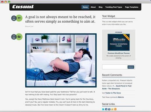 Mejores 65 imágenes de WordPress themes en Pinterest | Wordpress ...