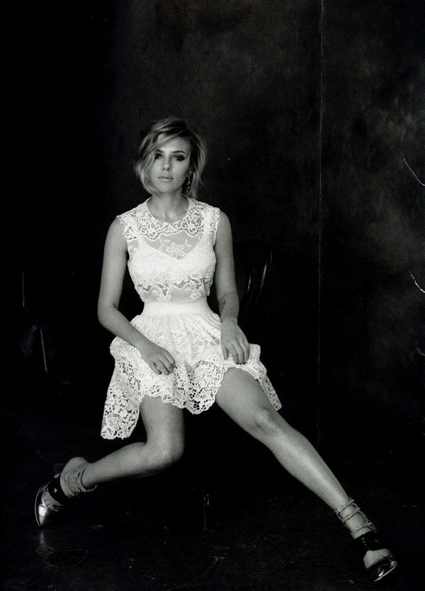 Scarlett Johansson | Peter Lindbergh  #photography | Vogue China April 2011