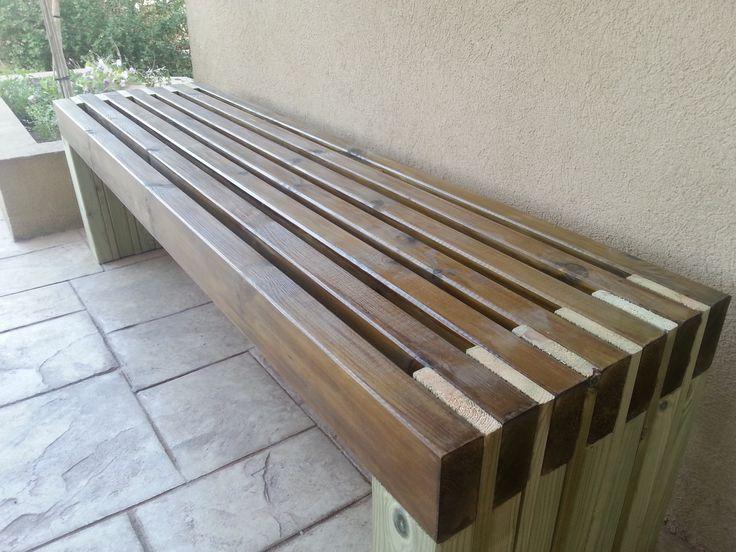 アナ・ホワイト  私の新しい素晴らしい屋外ベンチ - DIYプロジェクト