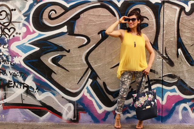 Fashion & Veg: Quella stampa floreale...Vagamente Retrò >> http://fashionandveg1.blogspot.it/2016/06/quella-stampa-florealevagamente-retro.html