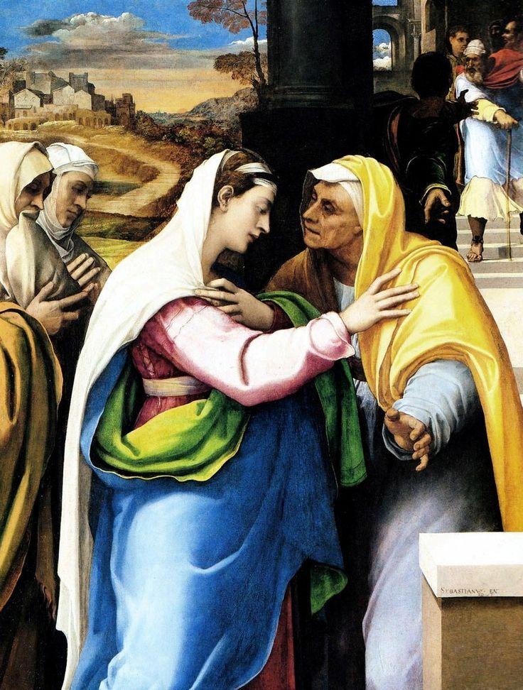 Sebastiano del Piombo - Visitazione - 1521