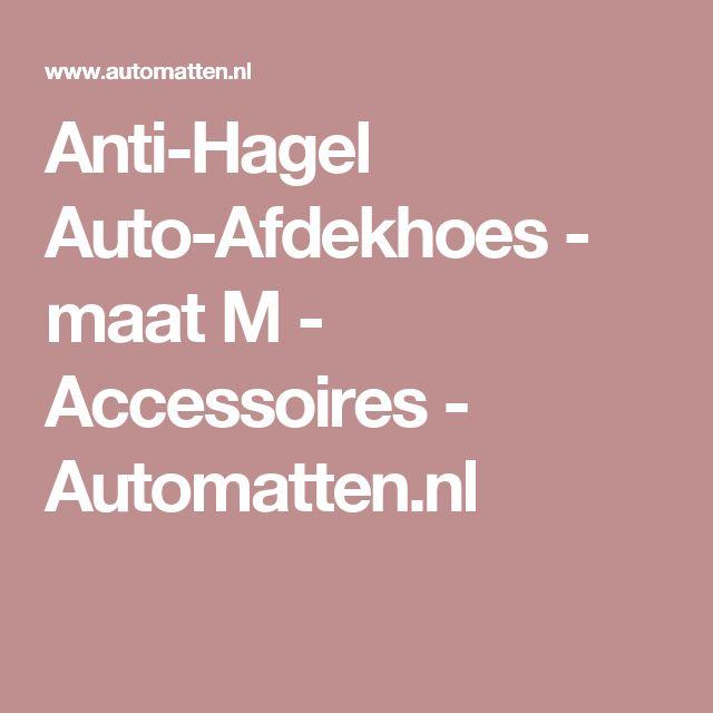 Anti-Hagel Auto-Afdekhoes - maat M - Accessoires - Automatten.nl