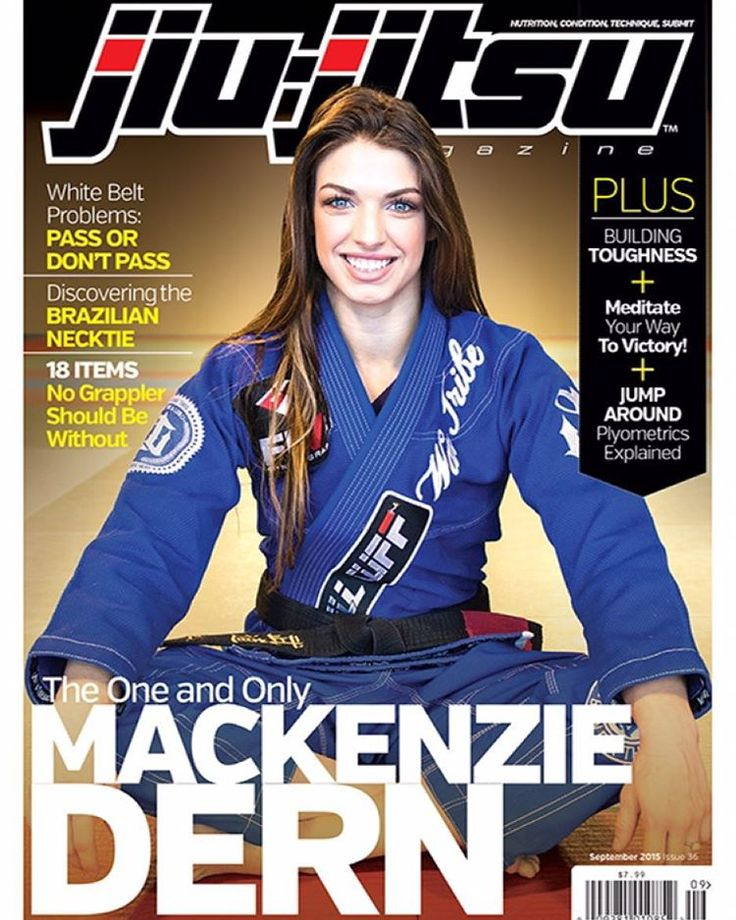 """My first solo cover comes out today!!! I am so excited to have the opportunity to be the cover of @jiujitsumag !!!  make sure to check it out at…"""