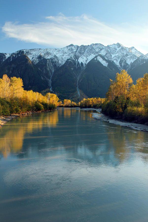 Lillooet River - Pemberton, BC Canada