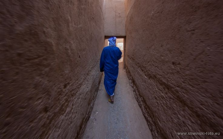 Following the local guide, Rissani, Morocco.