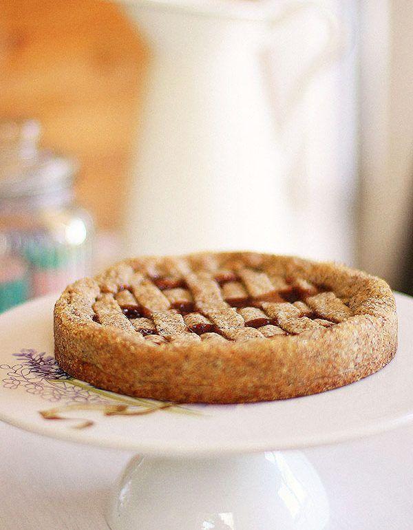 torta grano saraceno e fragole pan di zenzero