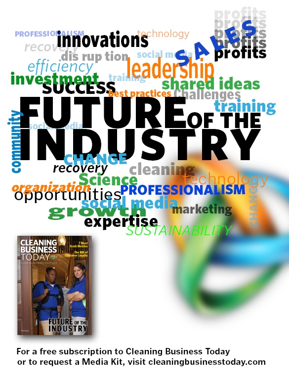 """The """"Future of the Industry,"""" an in-depth feature in our April 2013 issue on what's to come in the residential cleaning industry."""