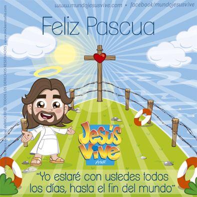 Jesús Vive® – Felices Pascuas