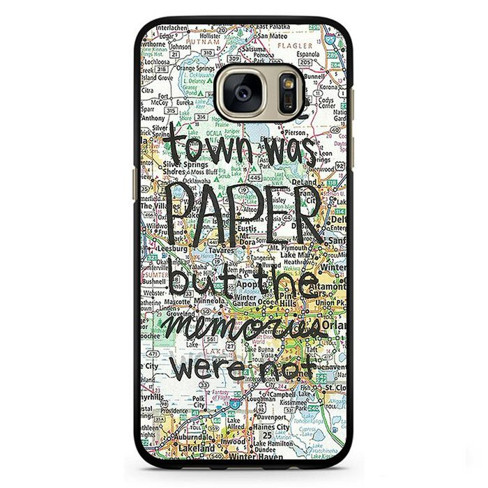 Paper Towns John Green Phonecase Cover Case For Samsung Galaxy S3 Samsung Galaxy S4 Samsung Galaxy S5 Samsung Galaxy S6 Samsung Galaxy S7