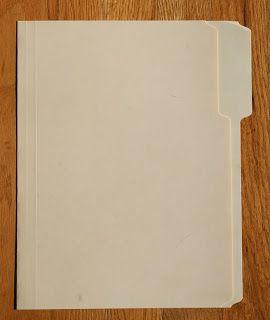 How to Make a Mini Album Using a Manila File Folder by Kristin Greenwood - My Creative Scrapbook