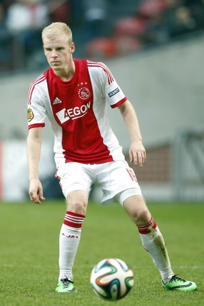 Davy Klaassen of Ajax AFC