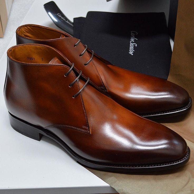 Chukka boots de chez Carlos Santos