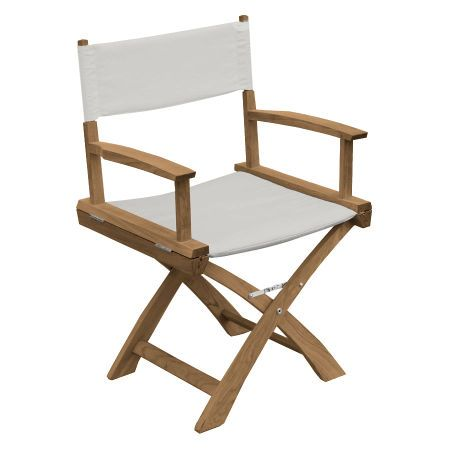 Find Luxury In Teak Outdoor Chairs With The Cushioned Quick Dry Seat And Back Of Our Folding Director S Chair Online Or Call