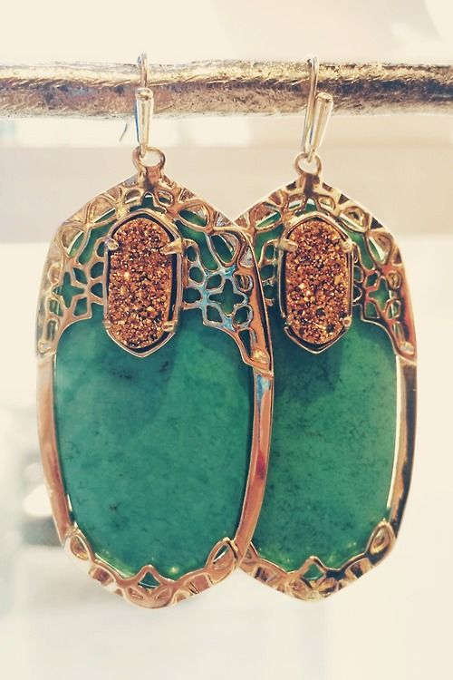 these kendra earrings are perfection