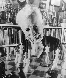 Arpad Elo, the inventor of the Elo rating system.   http://en.wikipedia.org/wiki/Elo_rating_system