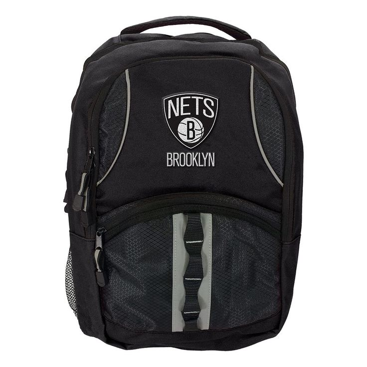 Brooklyn Nets Captain Backpack by Northwest, Black
